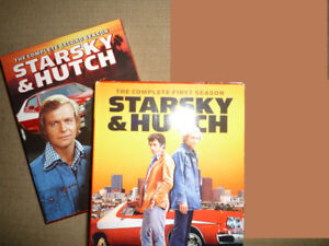 Starsky and Hutch CLASSIC TV DVDs Season 1 + 2