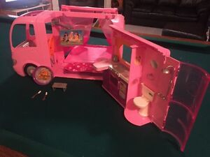 Barbie Doll camper with accessories