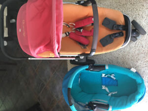 Quinny Buzz - stroller and bassinet