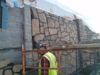 Stone Mason and landscape design, woodwork ,wood carvings