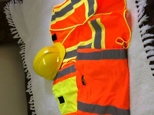 New Safety wear and hard hat for sale!