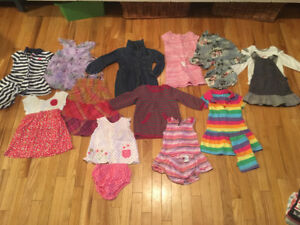 Size 2 and 3 Girl Clothes (Expensive brand name items)
