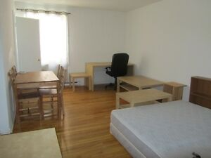 1 1/2 apartment for rent,  Available 1st of October.