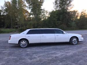 2001 Cadillac DeVille  limousine