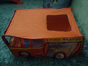 Fire Engine Play Tent TOY Edmonton Edmonton Area image 3