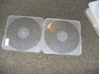 600 CD DVD DISCS slim poly cases boitiers square carre *LOOK !