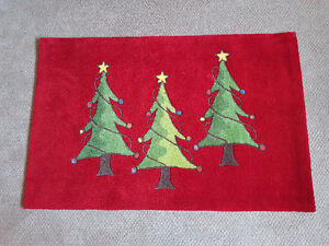 Christmas rug / floor mat