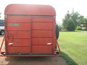 20' LIFT-OFF BUMPER PULL STOCK TRAILER WITH ALL HARDWARE Strathcona County Edmonton Area image 4