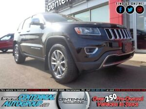 Jeep Grand Cherokee Limited   4x4   Leather   Moonroof   Bluetoo
