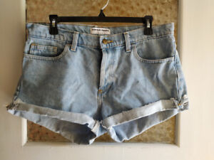 Short American Apparel 31 - Taille haute - Made in the USA