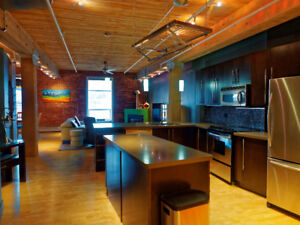 Furnished Downtown Industrial Loft