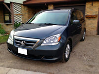 Accident free, Honda Odyssey with ecertify & Negotiable Price