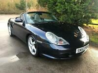 2004 PORSCHE BOXSTER 2.7 PETROL 5 SPEED MANUAL SPORTS CONVERTIBLE