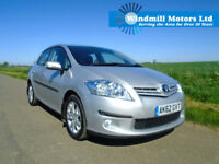TOYOTA AURIS 1.6 V-MATIC COLOUR COLLECTION 5DR - LOW MILEAGE - ONE OWNER
