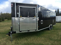 CJay Enclosed toy hauler @ SCH Trailers
