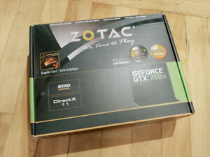 ZOTAC GeForce® GTX 750 Ti carte graphique
