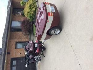 1800 goldwing and trailer