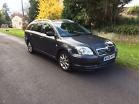 Toyota Avensis 2006 estate FSH low mileage.