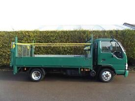 2008 Isuzu NKR Grafter- DROPSIDE - TAIL LIFT - FLATBED PICK UP - 3.5 TON