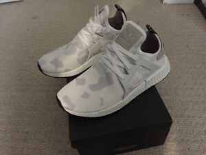 ADIDAS NMD XR1 WHITE CAMO--DS--SZ 9 US--AUTHENTIC London Ontario image 2