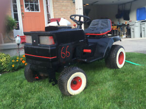 Hot Rod Race Mower!