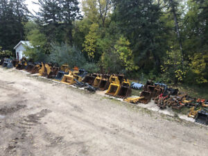 Selling Excavator Attachments