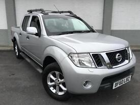 2011 Nissan Navara 2.5dCi Tekna 4x4 1 owner double cab only 32000 miles