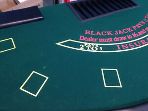 Black Jack Tables (Two Available, Priced Individually) London Ontario image 3