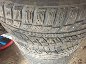 4 Winter tires for Honda Odyssey 225 60/R16