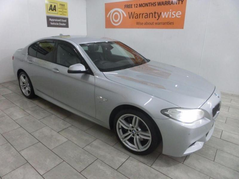 SILVER BMW 5 SERIES 2 0 525D M SPORT ***FROM £299 PER MONTH***   in  Liverpool, Merseyside   Gumtree