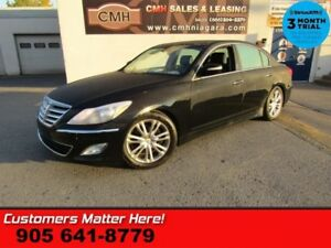 2013 Hyundai Genesis Sedan PREMIUM  ROOF LEATHER CAM HS PWR-SEAT