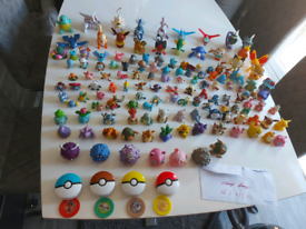 Huge pokemon toy collection