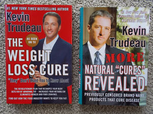 KEVIN TRUDEAU hard cover--Retailed for $29.95 each!