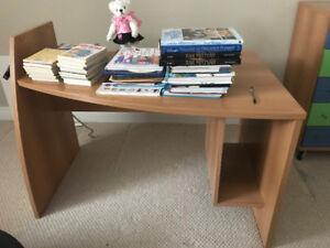 Neoset solid wood desk