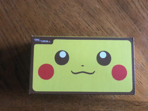 New new Nintendo 2DS XL Pikachu Limited Edition never opened