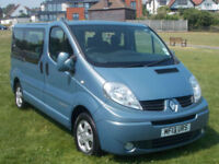 Renault TRAFIC SL27 SPORT DCI 9 SEATS ONLY 42000 MILES
