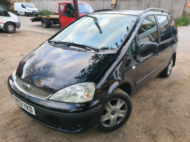 Ford galaxy ghia 2.3 automatic 2003 7 seater 1 years mot DVD player