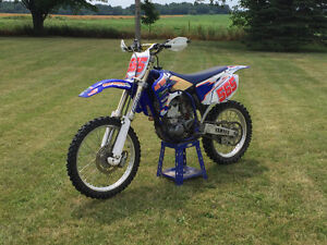 2005 Yamaha YZF 250 great condition trade for 88-95 gm chev