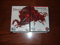 Dragon Age PC games set of two games