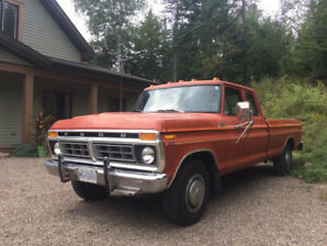 1977 Ford 350 Camper Special