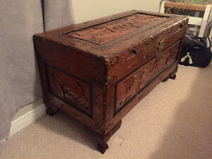Hand carved Chest London Ontario image 1