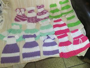 crochet dreesses for dolls. Cambridge Kitchener Area image 2