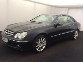 2005 '55 MERCEDES-BENZ CLK 220 2.2 TD CDI AUTO ELEGANCE DIESEL Htd.Leather COUPE