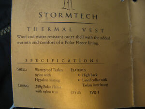*NWT* Stormtech DWR Thermal Vest (Men's size M) London Ontario image 8