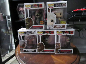 Funko Jurassic Park and World Pop Figures with Chase!