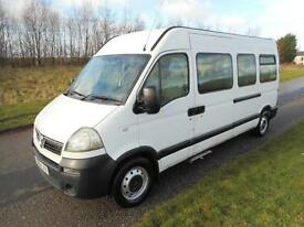 2006 Vauxhall Movano 2.5 CDTi Minibus LWB, 17 SEATS, 1 OWNER FROM NEW
