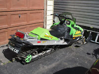 Arctic Cat Mountain Cat. Will trade for streetbike.