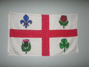 Drapeaux Flag Montréal 90 X 150 CM