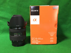 16-50mm F2.8 Sony A-mount Lens