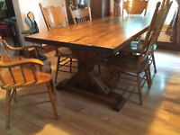 Rustic Farm Style Tables
